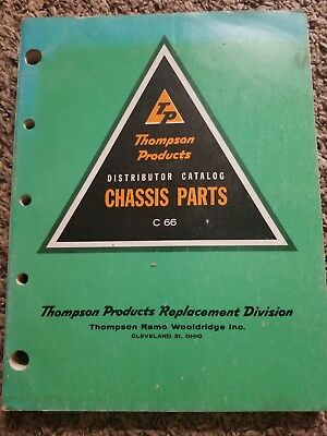 1963 Thompson Products Catalog No C66 TRW 1942-63 Chassis Illustrated Parts