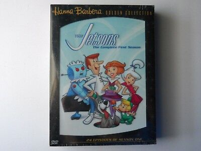 The Jetsons Complete First Season Hanna Barbera 4 Disc DVD Set NEW