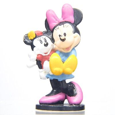 Applause Disney Minnie Mouse Figurine Holding Doll Topper Figure