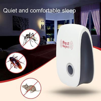 1Pc Electronic Ultrasonic Mosquito Repellent Insect Pest Reject Killer Control