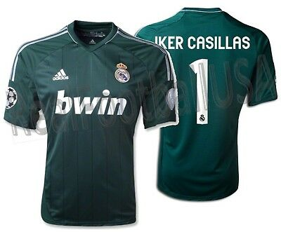 ... where to buy adidas iker casillas real madrid uefa champions league  third jersey 2012 13. 7efaa0acc