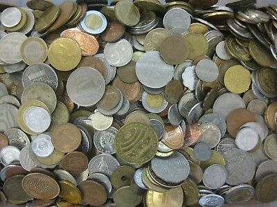 Mixed Foreign World Coins 1 LB Bags