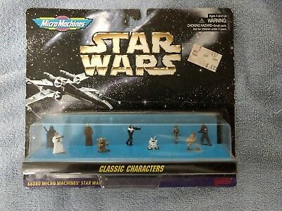 Details about   STAR WARS MICRO MACHINES CLASSIC CHARACTERS 9 PC MINI FIGURE SET