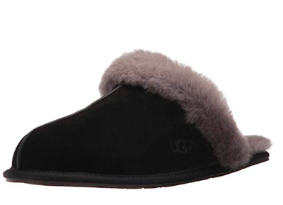 678ba8af8aa WOMEN'S SHOES UGG SCUFFETTE II Slippers 5661 BLACK GREY - $30.88 ...
