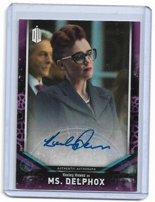 Keeley Hawes As Ms. Delphox 2018 Doctor Who Auto Autograph Qty
