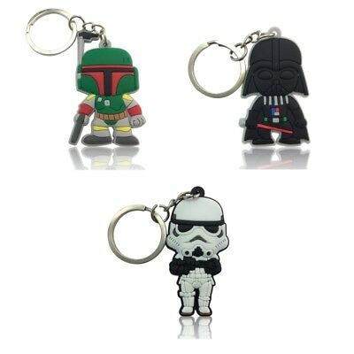 3PCS Star War Chain Key Ring Kids Toy Key chain Key Holder Charms Small Gift