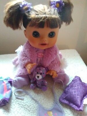 Baby Alive 2012 surprise doll , working french and english