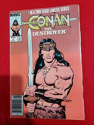 MARVEL CONAN THE DESTROYER No. 1 & 2 Comic Books 1985