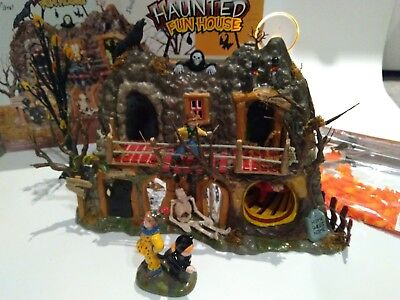Dept 56 halloween haunted fun house 56.55094 *TUNNEL does NOT SPIN*AS IS*