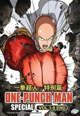 DVD One Punch Man Special Episode 1-6 End Wanpanman English Subtitle Japan Anime