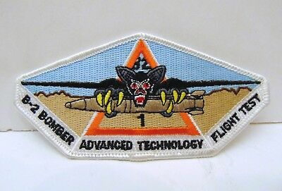 Northrop Grumman B-2 Bomber Advanced Technology Flight Test Patch, Spirit, Bomb