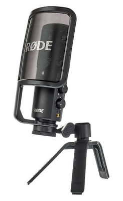 Rode NT-USB USB Condenser Microphone Bundle NEW