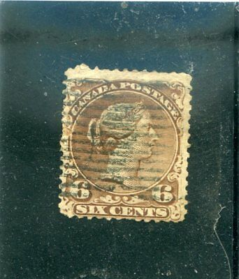 Canada OLD used stamp SC#27  fine.