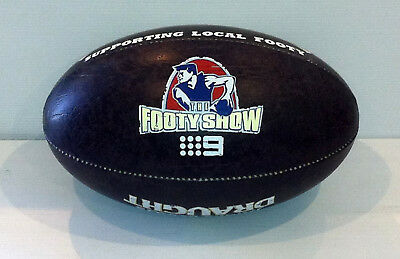 AFL Match Football The Footy Show James Boags Draught Full Size