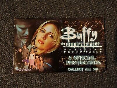 Buffy the Vampire Slayer Inkworks Photocard Set Rare OOP Hard To Find
