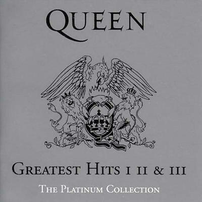 Queen Cd - Greatest Hits I, Ii & Iii: The Platinum Collection (2002) - New