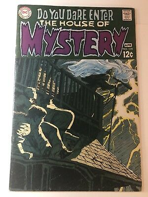 HOUSE OF MYSTERY #179 VF- 7.5 (1969) 1st Berni Wrightson; Neal Adams cover