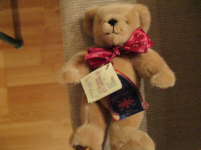 MERRY THOUGHT IRONBRIDGE BEAR Made in England NWT