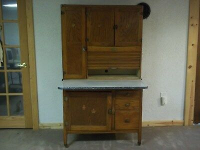 Hoosier style Cupboard Vintage WILL DELIVER FOR FREE Between Wisconsin & Nevada
