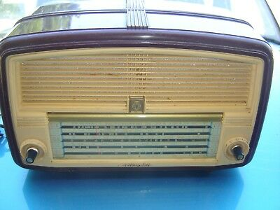 Vintage  Awa Radiola  Valve Radio---In Working Order---