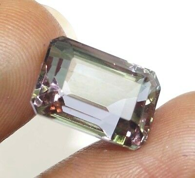 Christmas Offer Certified 11.00 Ct Charming Emerald Cut Changing Alexandrite