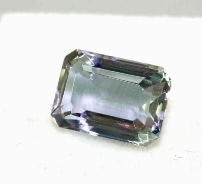 Christmas Offer Certified 4.35 Ct Charming Emerald Cut Changing Alexandrite