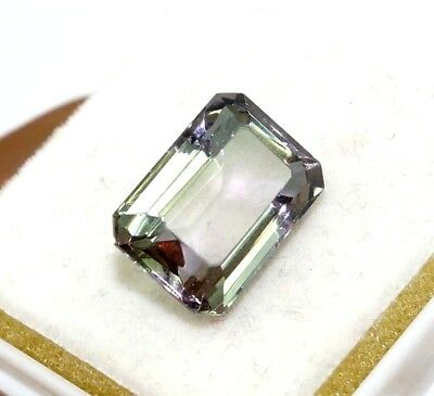 Christmas Offer Certified 8.40 Ct Charming Emerald Cut Changing Alexandrite