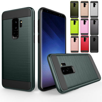 Shockproof Rugged Hybrid Hard Case Cover For Samsung Galaxy S6 / Edge / Plus