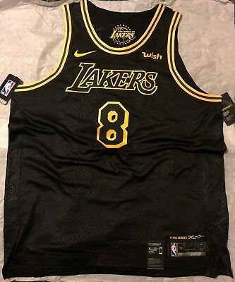 138b29af7206 KOBE BRYANT 8 Authentic City Edition Lakers Jersey Nike Size XL 56 SOLD OUT  ✮
