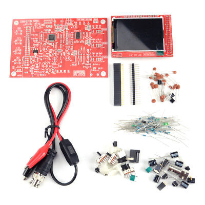 "Welded Assembled DSO138 2.4"" TFT Digital Oscilloscope 1Msps Welded DIY Probe Kit"