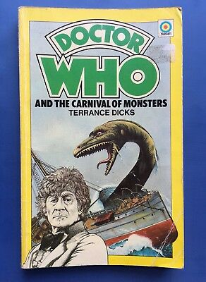 Doctor Who and the Carnival of Monsters - 1st Edition Target 8 - Terrance Dicks