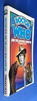 Doctor Who and the Loch Ness Monster - Target 40 - 1st Edition - Terrance Dicks