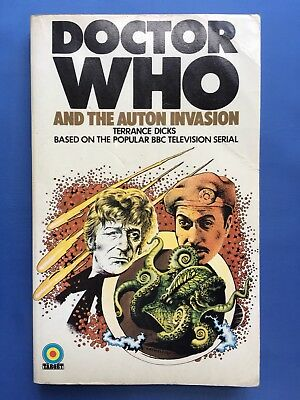 Doctor Who and the Auton Invasion -  Target 6 - 1st Edition - Terrance Dicks