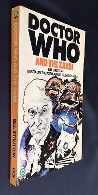 DOCTOR WHO and THE ZARBI - Target 73 - Bill Strutton - 1st Target Edition 1973