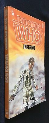 Doctor Who - Inferno - 1st ed - Target 89 - Terrance Dicks