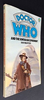 Doctor Who and the Sontaran Experiment - 1st edition - Target 56 - Ian Marter