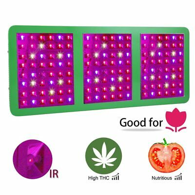 720W Plant Grow Light Lampe LED Pour Veg Spectre complet Panneau Indoor Veg