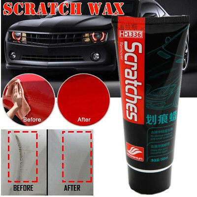 Car Scratches Repair Kit Polishing Wax Cream Paint Scratch Remover Care 100ml US