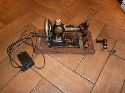 Old Jones Family C S Sewing Machine with Singer electric conversion?