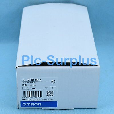 NEW IN BOX Omron PLC G7TC-OC16 for Relay type 24VDC *SHIP TODAY*