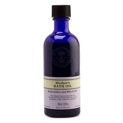 NEAL'S YARD REMEDIES MOTHERS BATH OIL 100ml NEW & SEALED ONLY £12.99 FREE POST
