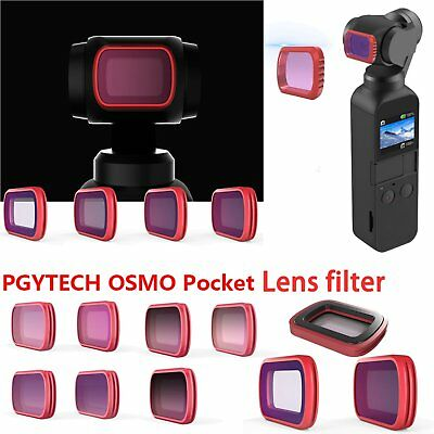 Pro Camera Objektiv UV CPL ND8/16 & Farbverlaufs-ND Filters für DJI OSMO POCKET