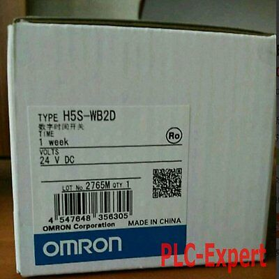 1pcs New Omron time relay H5S-WB2D DC24V in box