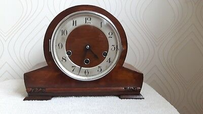 Vintage Westminster Chime Haller Mantel Clock for spares