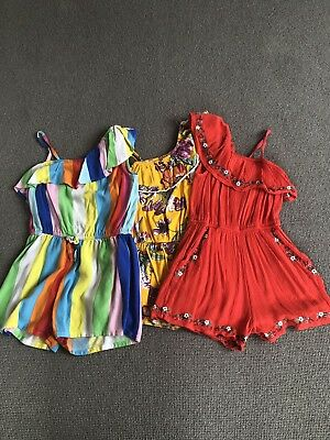Girls NEXT playsuits aged 5 years (also In Age6 If Required)