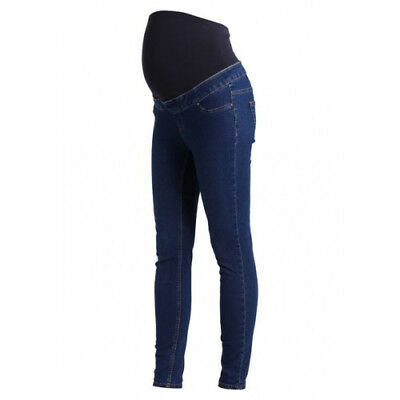 a9e390cda45108 NEW LOOK Dark Blue Maternity Over Bump Jeggings, Pregnancy Jeans in Sizes 8  - 18