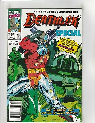 Deathlok Special #1 VF/NM 9.0 Newsstand Marvel Comics