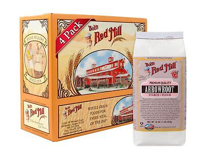 Bob's Red Mill Arrowroot Starch / Flour, 16-ounce (Pack of 4)