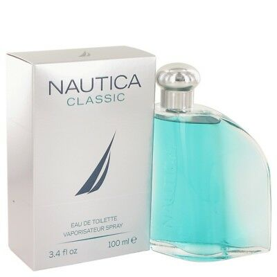 NAUTICA CLASSIC by Nautica 3.4 oz Cologne 100 ml EDT 3.3 for Men New in Box