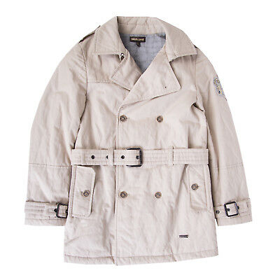 ROBERTO CAVALLI Trench Coat Size 6Y / 122CM Padded Belted Made in Italy RRP €579